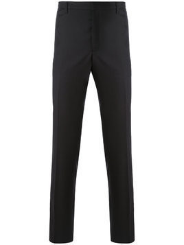 Aiezen straight leg trousers - Black