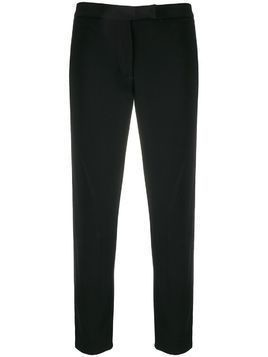Ann Demeulemeester slim-fit piped seam trousers - Black