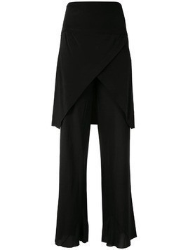 Kitx Imperial overlay trousers - Black