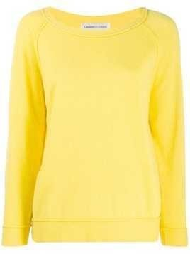 Lamberto Losani raglan sleeve jumper - Yellow