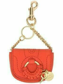 See by Chloé Hana goatskin clip mini bag - 830 HAPPY ORANGE