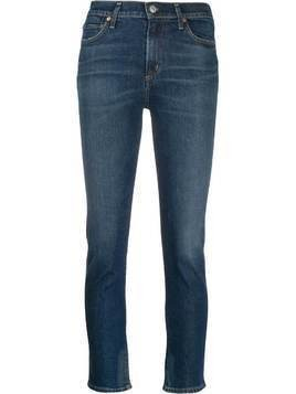 Citizens Of Humanity frayed hem skinny jeans - Blue