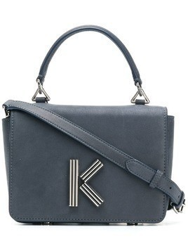 Kenzo logo shoulder bag - Blue