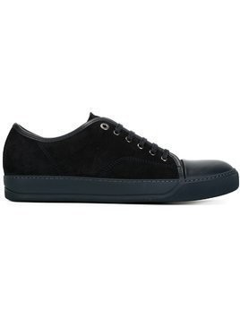 Lanvin contrasted toe cap sneakers - Blue