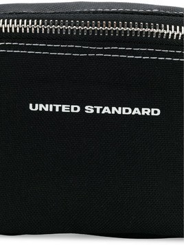 United Standard logo strap belt bag - Black