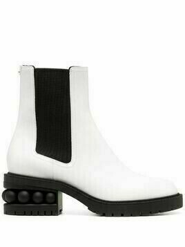 Nicholas Kirkwood CASATI 35mm ankle boots - White