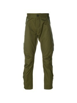 Diesel Black Gold drop-crotch trousers - Green