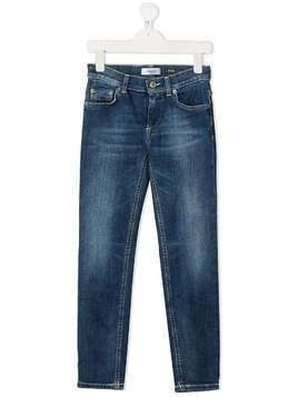 Dondup Kids straight-leg jeans - Blue