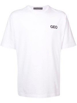 Geo essential T-shirt - White