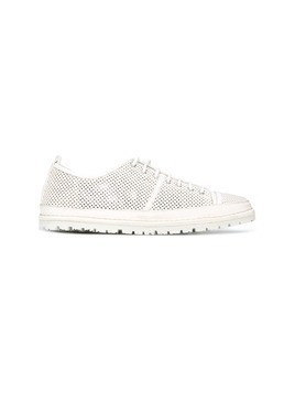 Marsèll perforated detail sneakers - White
