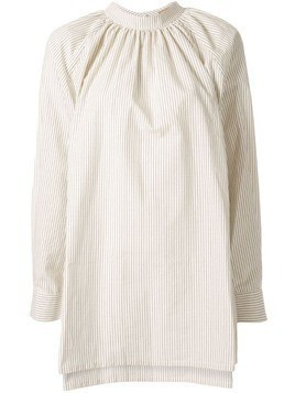 Nehera gathered backwards shirt - Neutrals