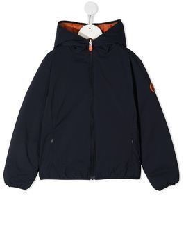 Save The Duck Kids reversible padded jacket - Blue