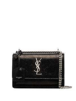 Saint Laurent small Sunset shoulder bag - Black