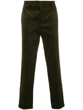 Golden Goose Deluxe Brand corduroy straight-leg trousers - Green