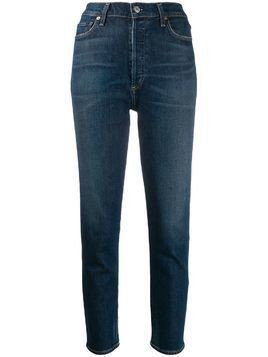 Citizens Of Humanity Olivia high-rise slim jeans - Blue