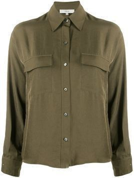 Vince boxy fit blouse - Green