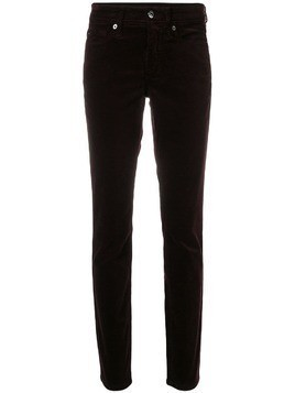 Cambio classic slim-fit trousers - Pink