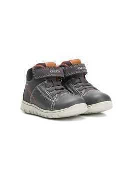 Geox Kids touch strap boots - Grey