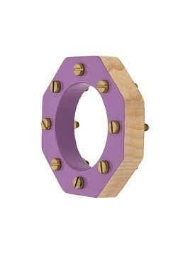 Corto Moltedo octagonal bangle - Purple