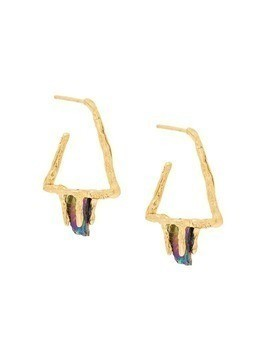Niza Huang Delta Stone earrings - Metallic
