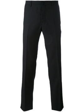 Aiezen front crease trousers - Black