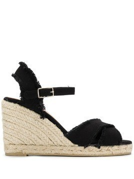 Castañer Bromelia wedge sandals - Black