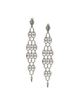 Loree Rodkin diamond chandelier earrings - Black