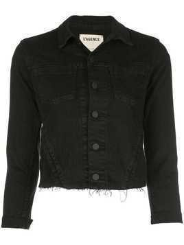 L'agence cropped jacket - Black