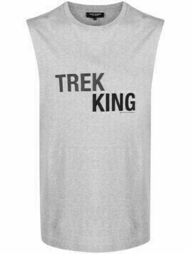 Ron Dorff Trek King tank T-shirt - Grey