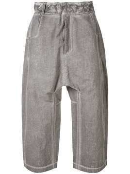 Tobias Birk Nielsen wide leg trousers - Grey