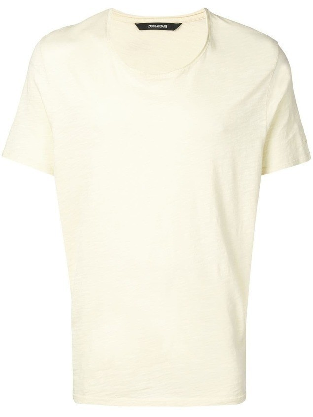 Zadig&Voltaire Toby T-shirt - Yellow