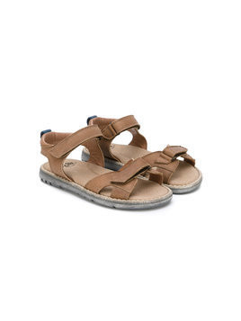Pèpè double strap sandals - Brown