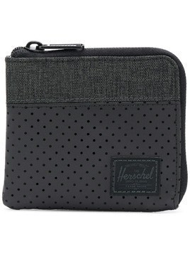 Herschel Supply Co. dotted zip purse - Black