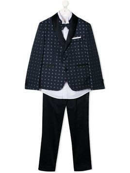 Colorichiari three piece suit - Blue
