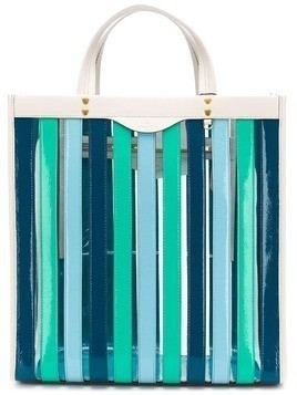 73a392bc7065d Anya Hindmarch multi-stripes tote bag - Blue