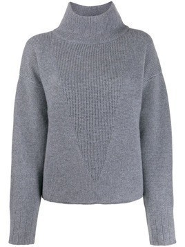 Le Kasha Chiryu funnel neck jumper - Grey