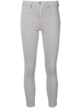 L'agence cropped skinny jeans - Grey