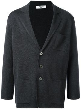 Fashion Clinic Timeless three button cardigan - Grey