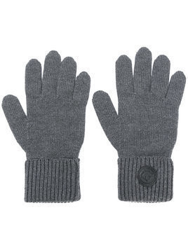 Dsquared2 logo plaque gloves - Grey