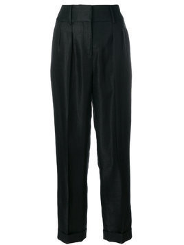 Tom Ford tailored fitted trousers - Black