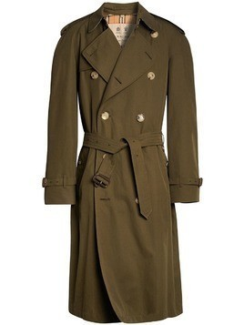 Burberry The Westminster Heritage Trench Coat - Green