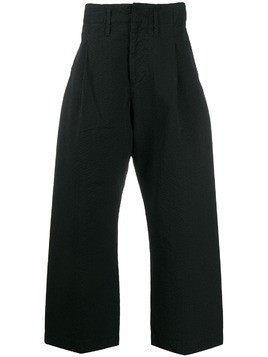 Craig Green wide leg cropped trousers - Black