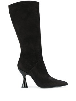 Dorateymur Stainless knee boots - Black