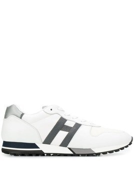 Hogan mesh upper sneakers - White
