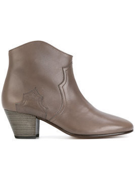 Isabel Marant Dicker ankle boots - Brown