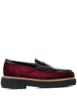 Flamingo's Mabel loafers - Black