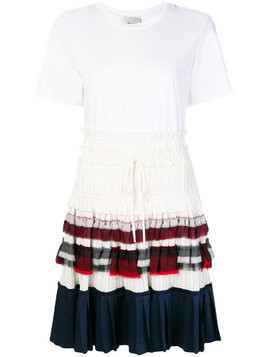 3.1 Phillip Lim layered look dress - White