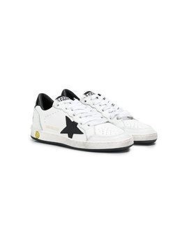 Golden Goose Kids Superstar sneakers - White