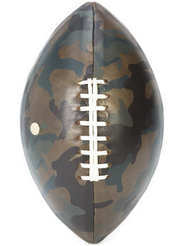 Elisabeth Weinstock camouflage print America football - Green