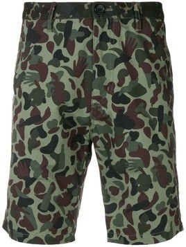 PS Paul Smith camouflage printed shorts - Green